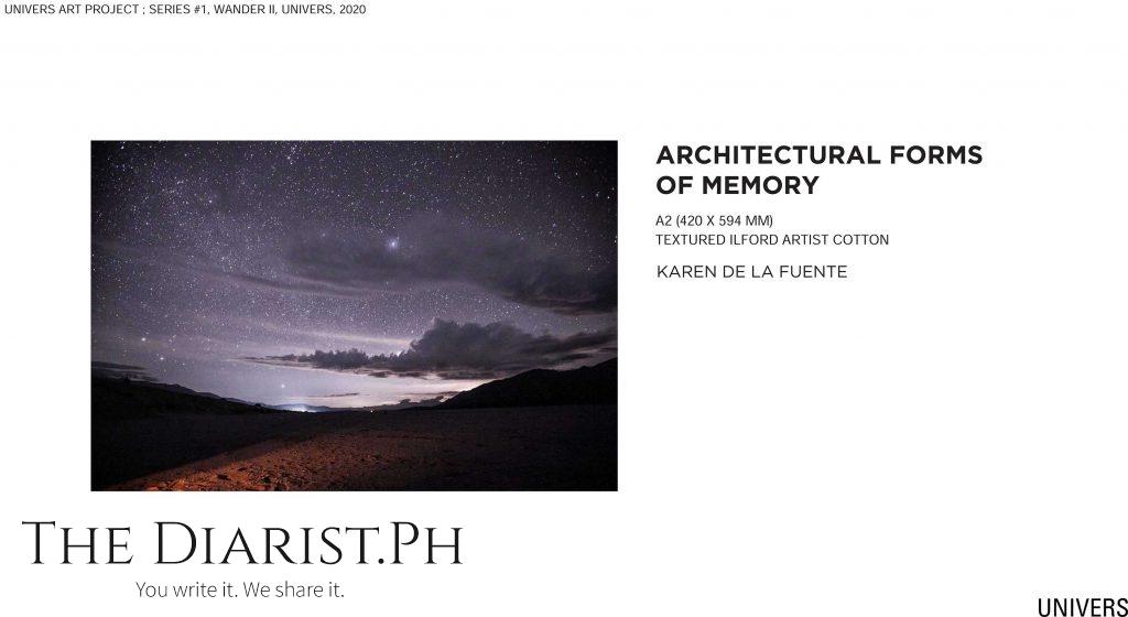 Architectural forms of memory by Karen de la Fuente