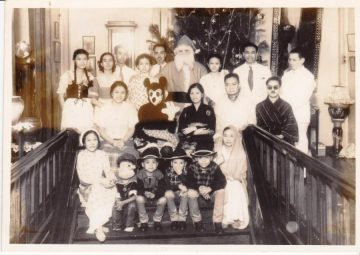 Our Christmas with 'lolo' Julio Nakpil and 'lola' Gregoria de Jesus
