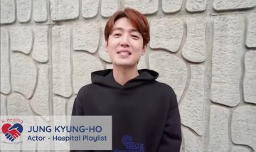 Korean actor Jung Kyung-ho of <br> 'Hospital Playlist' to Filipinos: <br> 'Kaya natin 'to!'
