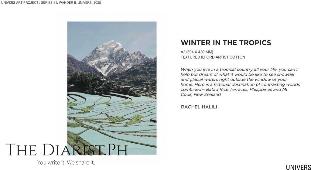 Winter in the tropics by Rachel Halili