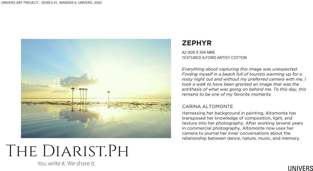 Zephyr by Carina Altomonte