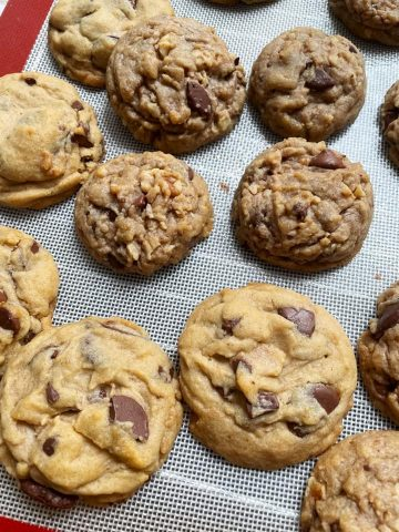 My chocolate chip cookie's journey to perfection