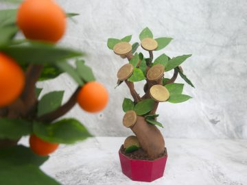 Lucky chocolate trees <br> for the Year of the Ox