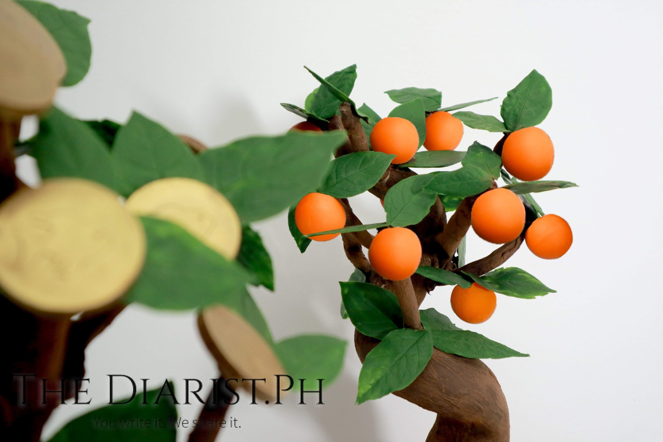 CNY Chocolate Gold Coin Tree