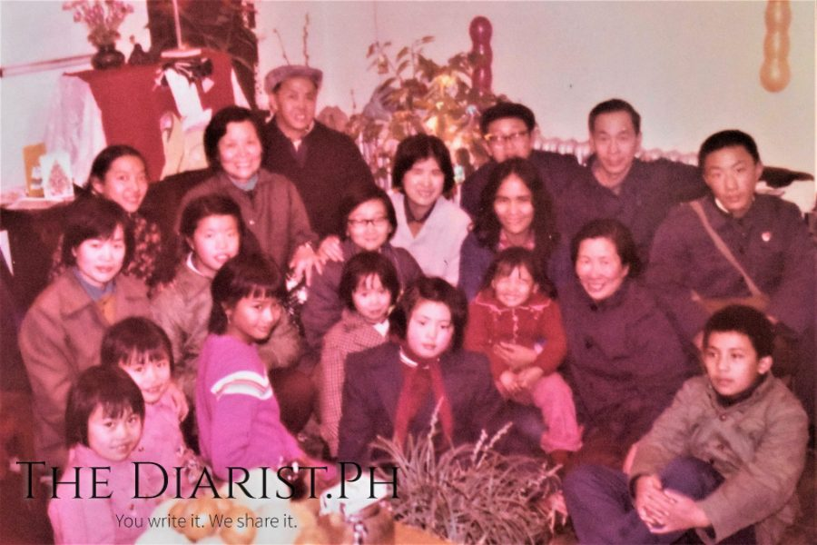 Chinese New Year celebration with Radio Peking colleagues & families