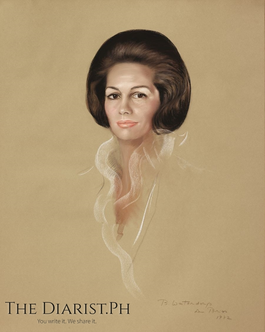 ROSE MARIE TUASON DE TODA, Pastel on paper, 1973, Private Collection