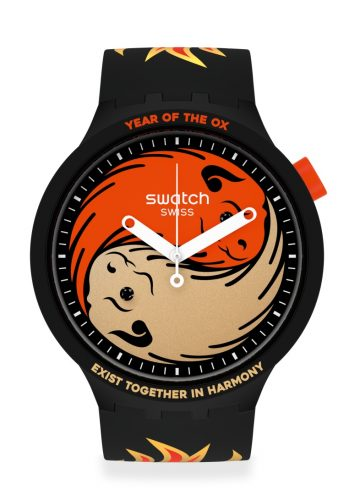 Swatch launches Ox Rocks 2021 <br> for Chinese New Year