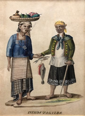 Fashion circa 19th century Philippines <br> a foretaste of styles to come