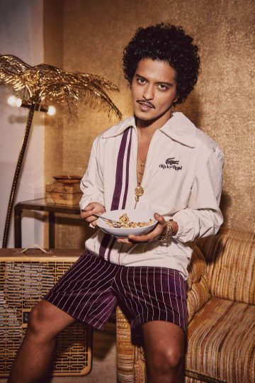 Bruno Mars as Ricky Regal for Lacoste