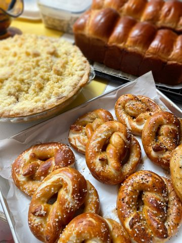Perfecting pretzels<br>—after my near-tantrum