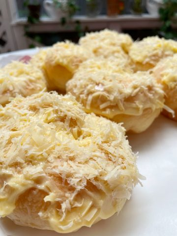 Why homemade Queso de bola ensaymada is best
