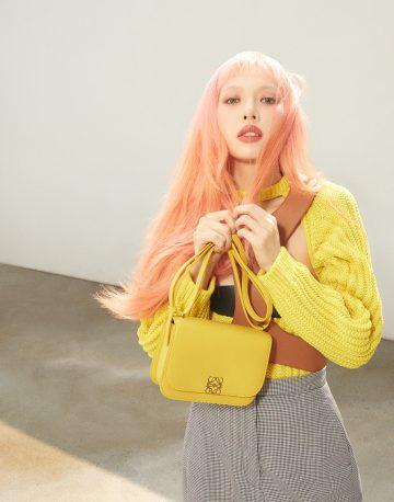 HyunA is Loewe's global ambassador