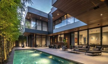 Creekside home becomes a triumph <br> of design and architecture