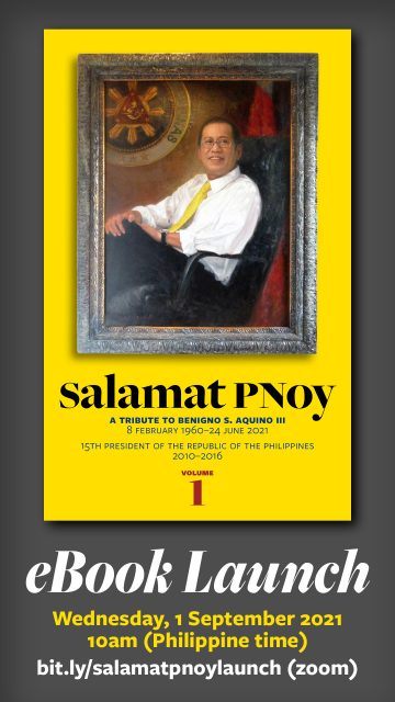 E-book on PNoy to be launched <br>  September 1; open to the public