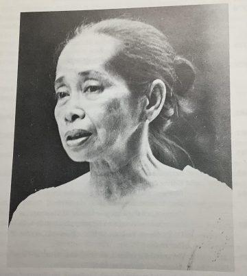 The eternal bonne vivante <br> Virginia R. Moreno