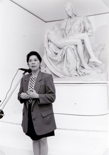 Rita K. Ledesma (1938-2021): <br> 'She had much passion for culture, <br> it was infectious'
