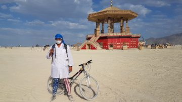 I was off the grid: <br> My Burning Man adventure