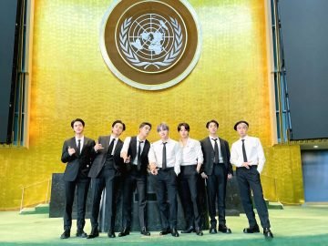 BTS champions the 'Welcome Generation'—and says they are vaxxed
