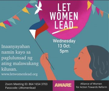Let Women Lead fundraising campaign launched