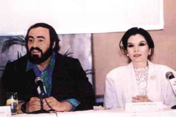 Being with Pavarotti in Manila—and the toughest performance of his life